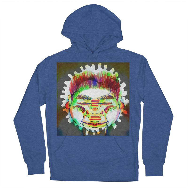 Peace&Color Men's French Terry Pullover Hoody by peacewild's Artist Shop
