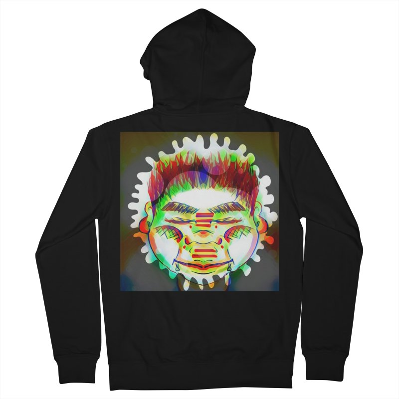 Peace&Color Women's French Terry Zip-Up Hoody by peacewild's Artist Shop