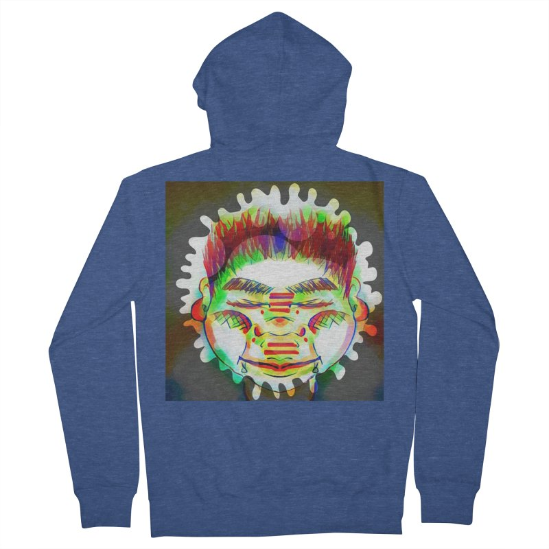 Peace&Color Men's French Terry Zip-Up Hoody by peacewild's Artist Shop