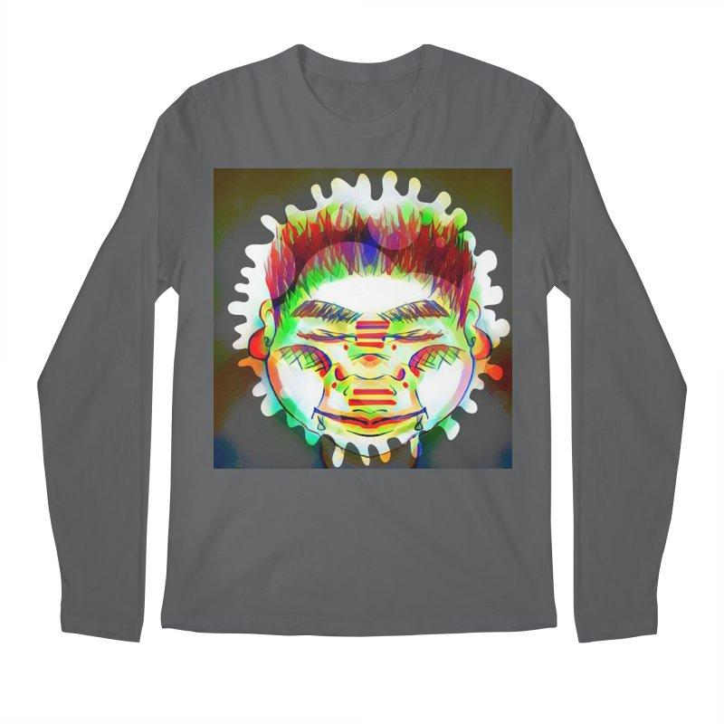 Peace&Color Men's Regular Longsleeve T-Shirt by peacewild's Artist Shop
