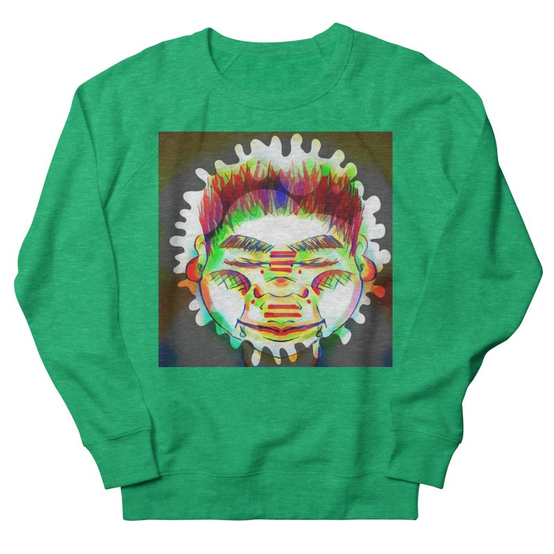 Peace&Color Women's French Terry Sweatshirt by peacewild's Artist Shop