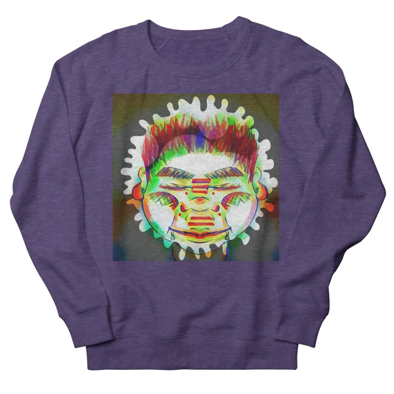 Peace&Color Men's French Terry Sweatshirt by peacewild's Artist Shop