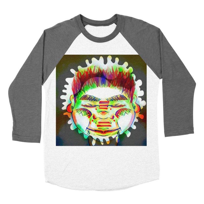 Peace&Color Women's Baseball Triblend Longsleeve T-Shirt by peacewild's Artist Shop