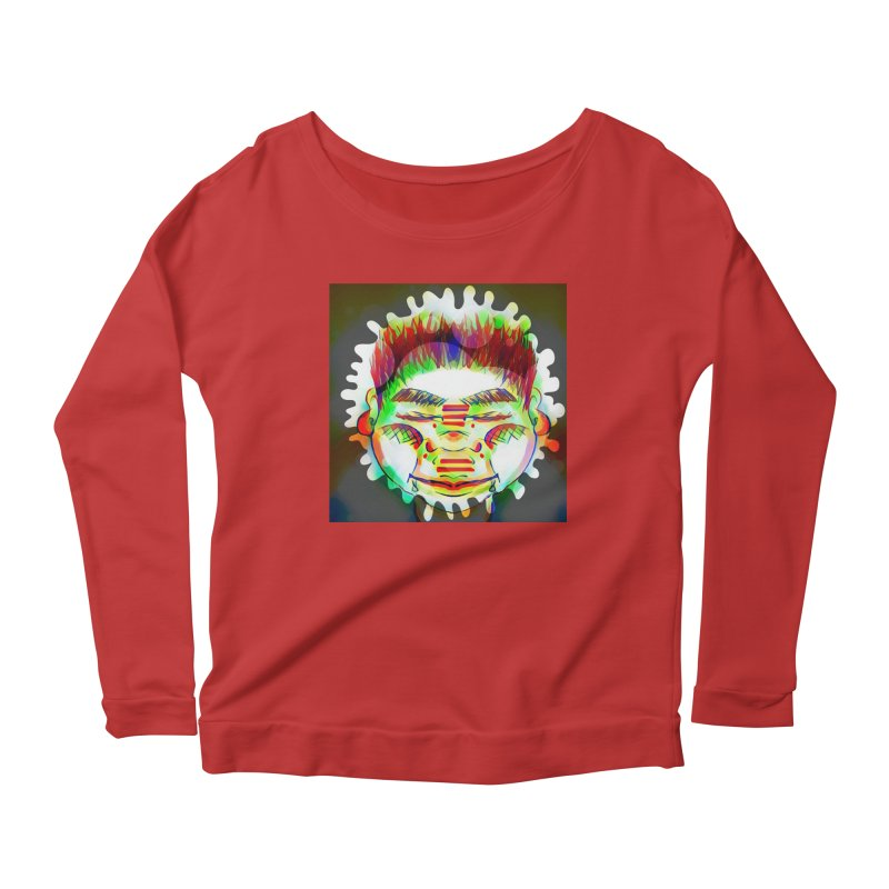 Peace&Color Women's Scoop Neck Longsleeve T-Shirt by peacewild's Artist Shop