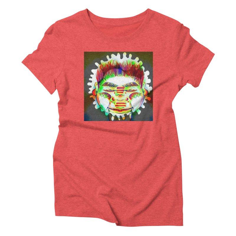 Peace&Color Women's Triblend T-Shirt by peacewild's Artist Shop