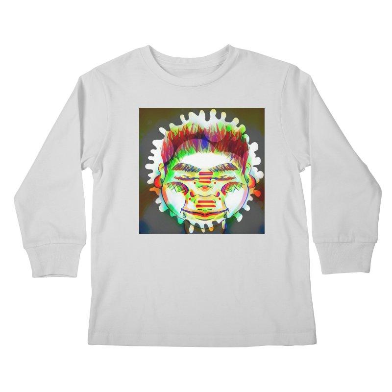 Peace&Color Kids Longsleeve T-Shirt by peacewild's Artist Shop