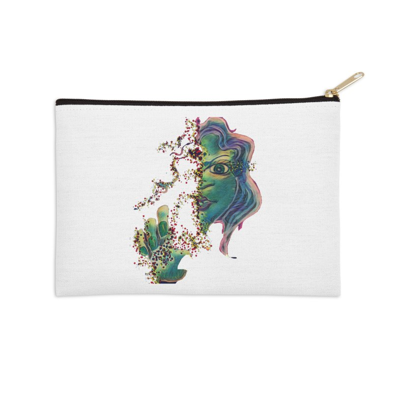 Pixels Accessories Zip Pouch by peacewild's Artist Shop