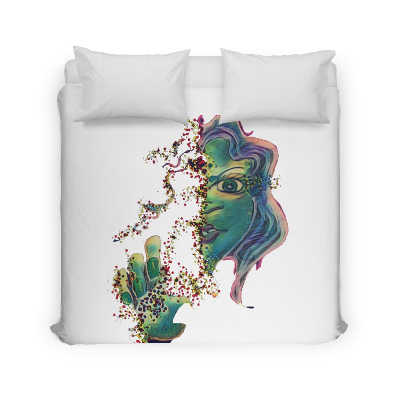 Pixels Home Duvet by peacewild's Artist Shop