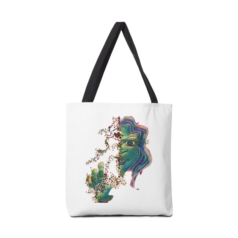 Pixels Accessories Bag by peacewild's Artist Shop