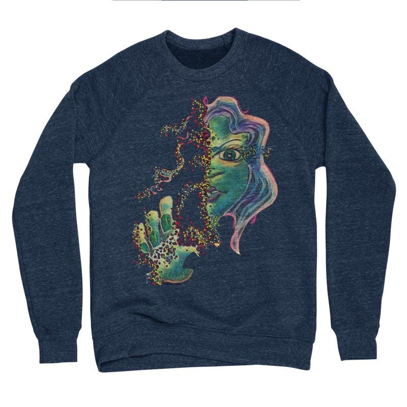 Pixels Women's Sponge Fleece Sweatshirt by peacewild's Artist Shop