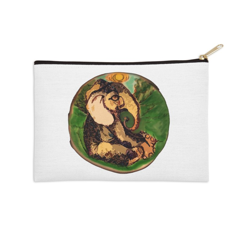 Elephant Dream Accessories Zip Pouch by peacewild's Artist Shop
