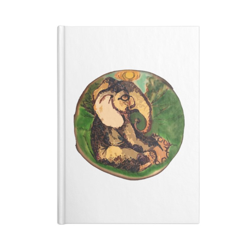 Elephant Dream Accessories Notebook by peacewild's Artist Shop