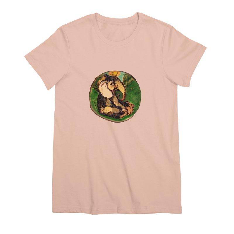 Elephant Dream Women's Premium T-Shirt by peacewild's Artist Shop