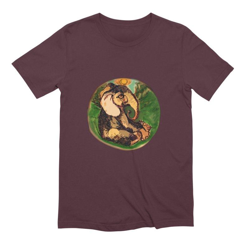 Elephant Dream Men's Extra Soft T-Shirt by peacewild's Artist Shop
