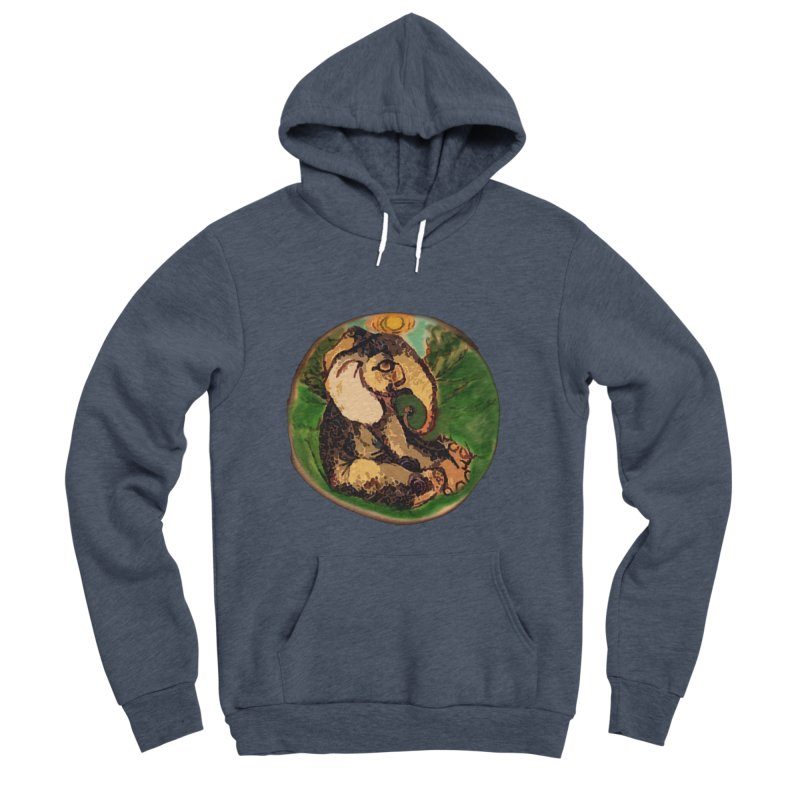 Elephant Dream Men's Sponge Fleece Pullover Hoody by peacewild's Artist Shop