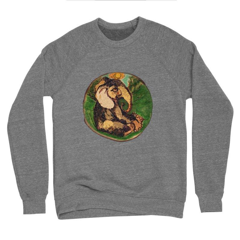 Elephant Dream Men's Sponge Fleece Sweatshirt by peacewild's Artist Shop