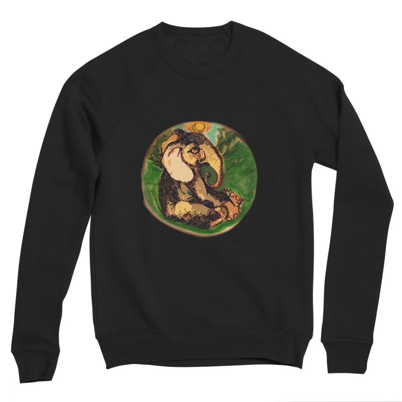 Elephant Dream Women's Sponge Fleece Sweatshirt by peacewild's Artist Shop