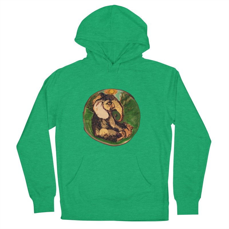Elephant Dream Women's French Terry Pullover Hoody by peacewild's Artist Shop
