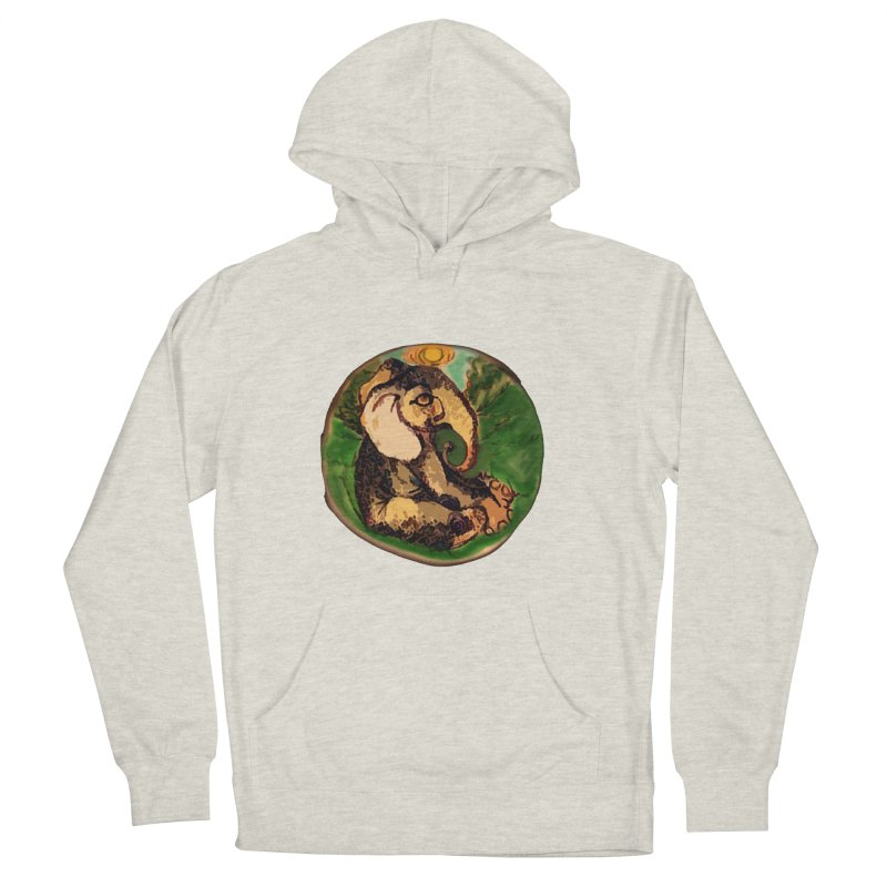 Elephant Dream Men's French Terry Pullover Hoody by peacewild's Artist Shop