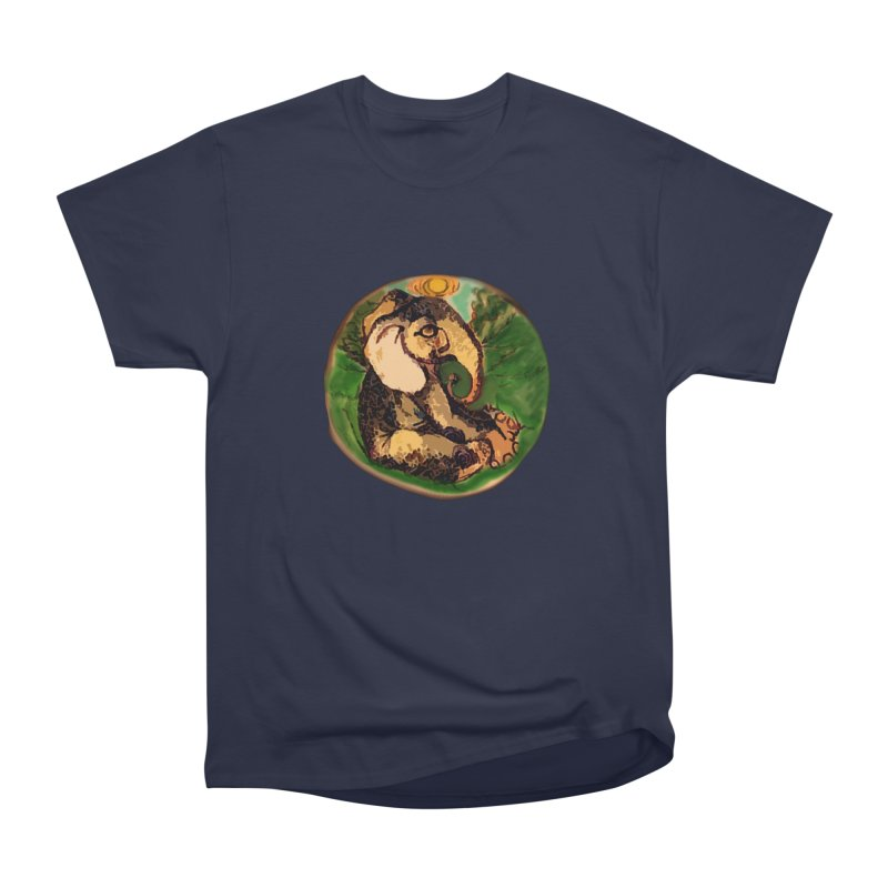 Elephant Dream Men's Heavyweight T-Shirt by peacewild's Artist Shop