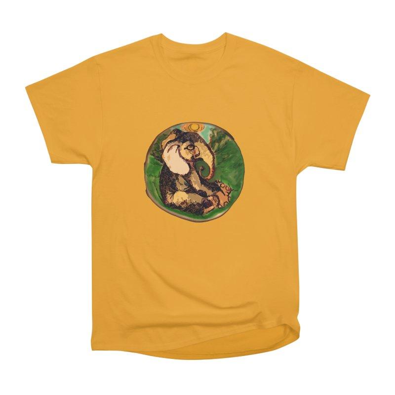 Elephant Dream Men's Heavyweight T-Shirt by peacewild's Artist Shop