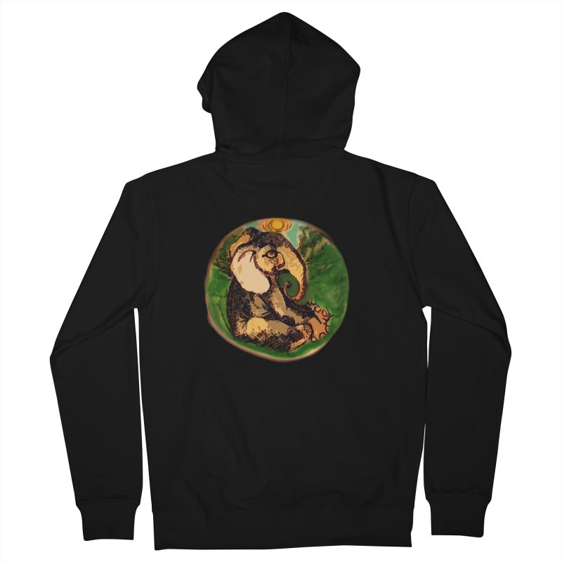 Elephant Dream Men's French Terry Zip-Up Hoody by peacewild's Artist Shop
