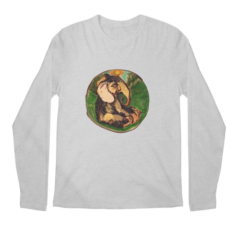 Elephant Dream Men's Regular Longsleeve T-Shirt by peacewild's Artist Shop