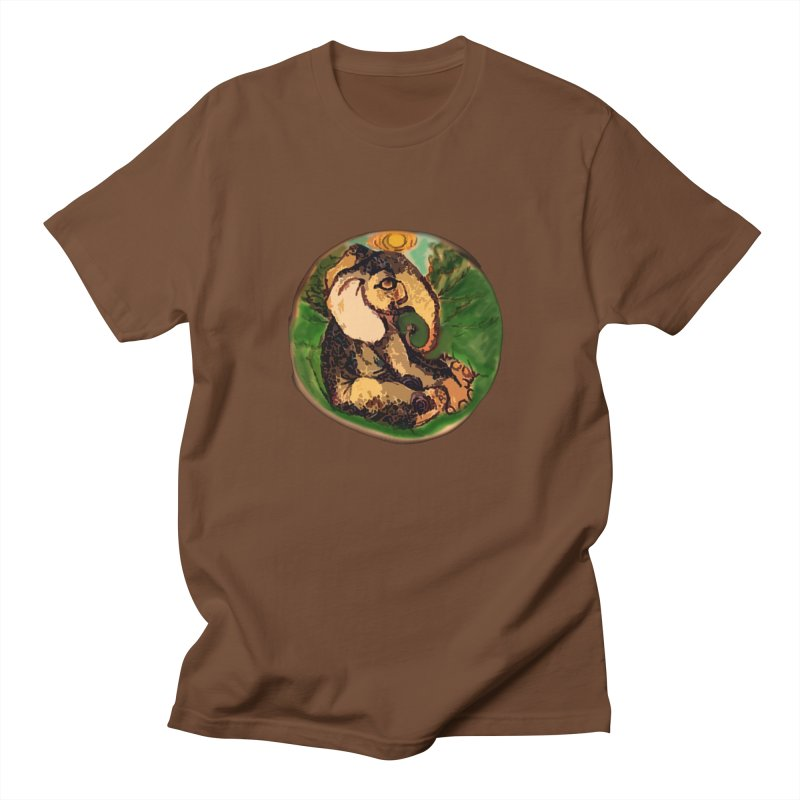 Elephant Dream Men's Regular T-Shirt by peacewild's Artist Shop