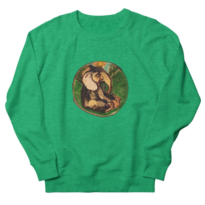 Elephant Dream Men's French Terry Sweatshirt by peacewild's Artist Shop