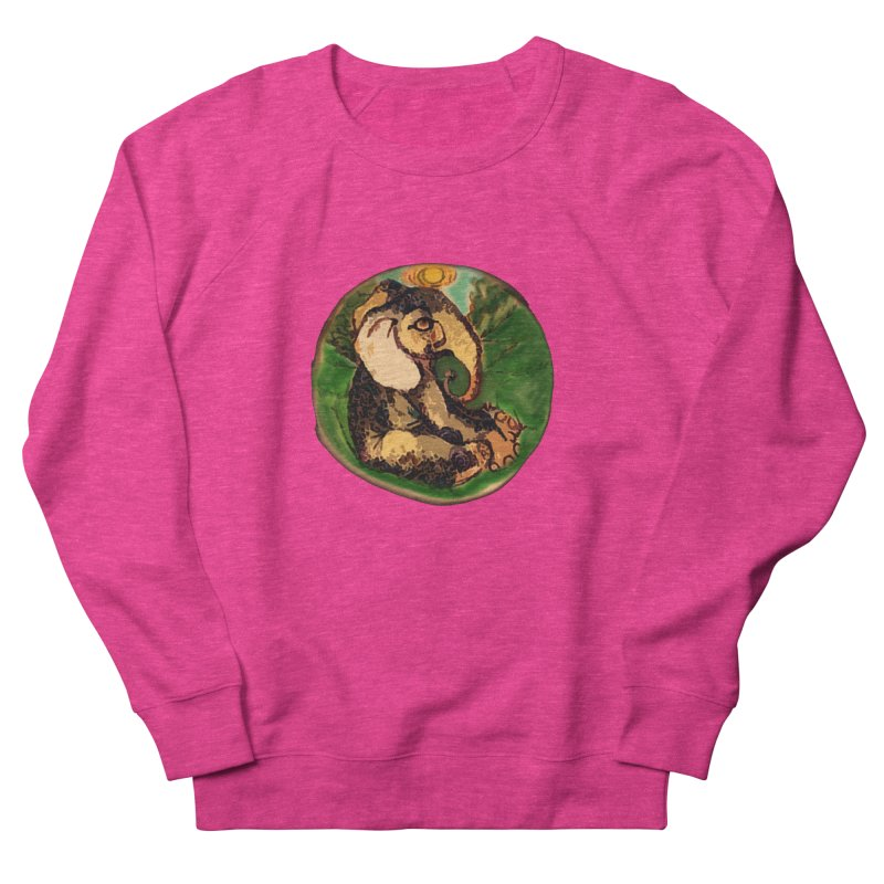 Elephant Dream Men's French Terry Sweatshirt by peacewild's Artist Shop