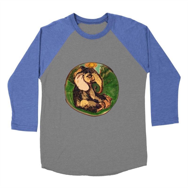 Elephant Dream Men's Baseball Triblend Longsleeve T-Shirt by peacewild's Artist Shop