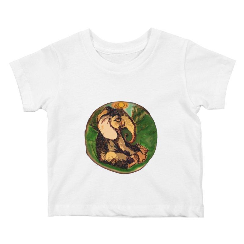 Elephant Dream Kids Baby T-Shirt by peacewild's Artist Shop