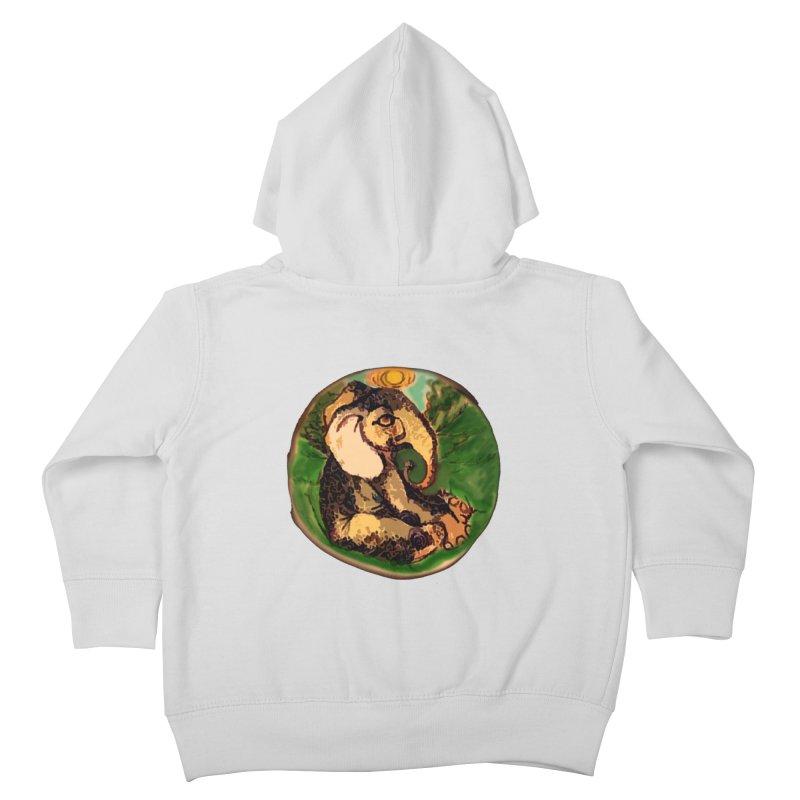 Elephant Dream Kids Toddler Zip-Up Hoody by peacewild's Artist Shop