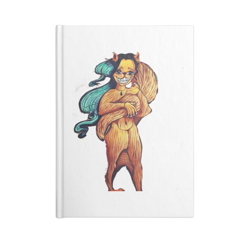 Cassy The Squirrel Accessories Notebook by peacewild's Artist Shop