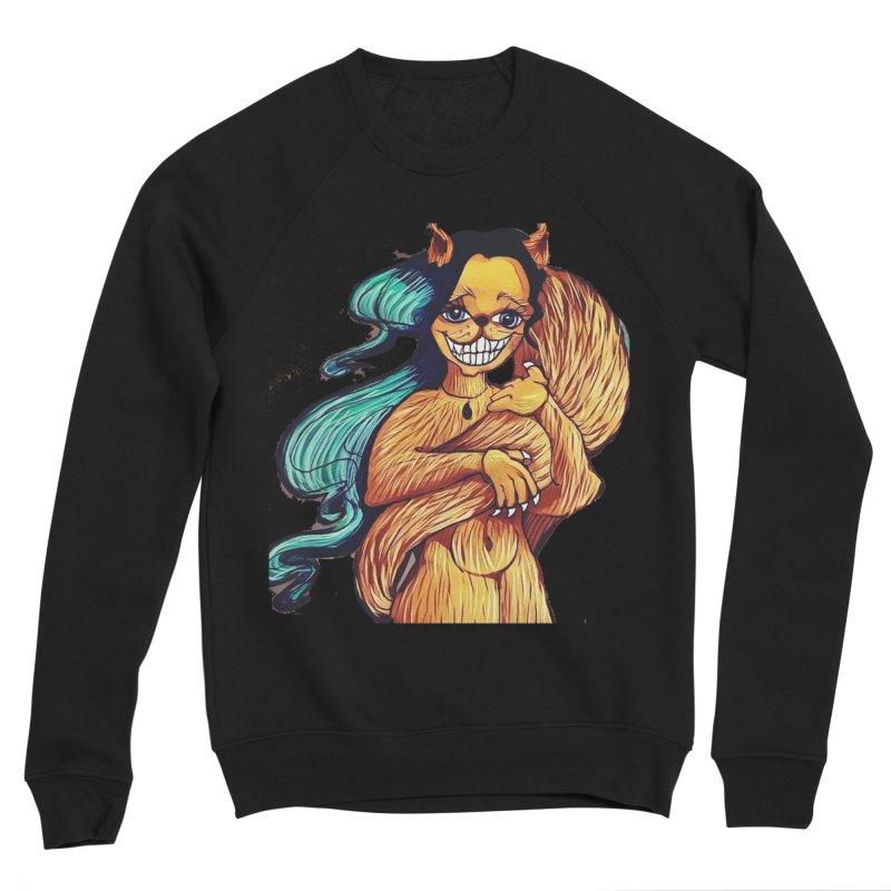 Cassy The Squirrel Women's Sponge Fleece Sweatshirt by peacewild's Artist Shop