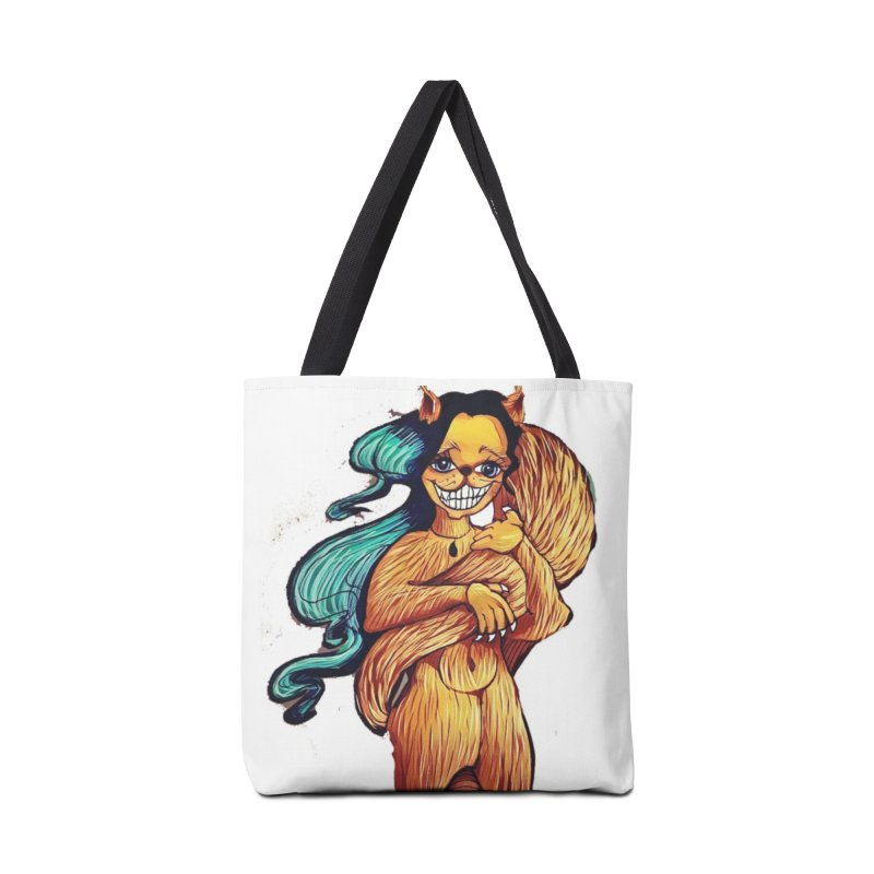 Cassy The Squirrel Accessories Bag by peacewild's Artist Shop