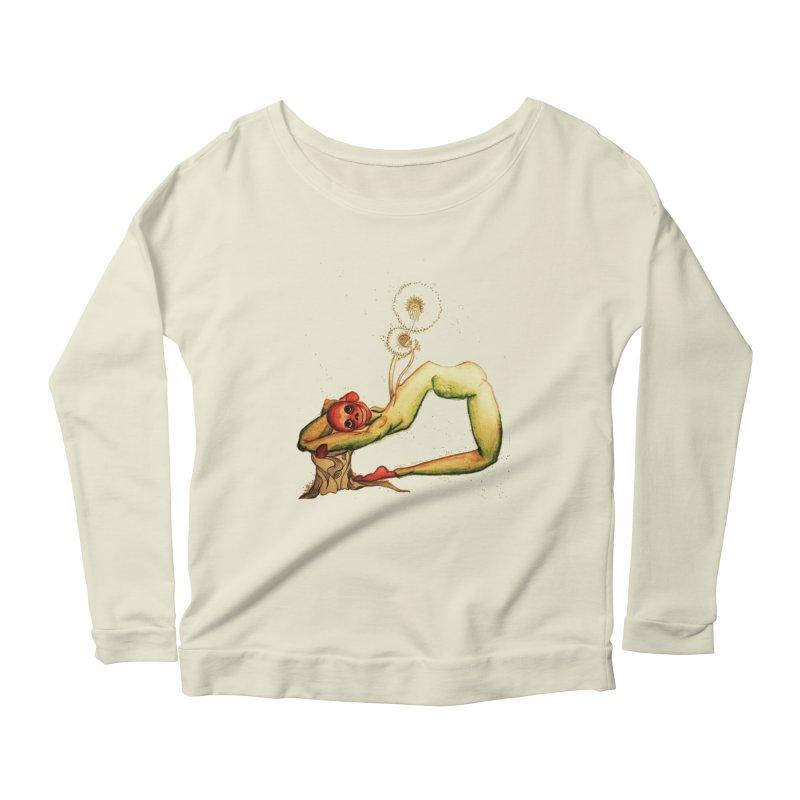 Garden Life Women's Scoop Neck Longsleeve T-Shirt by peacewild's Artist Shop