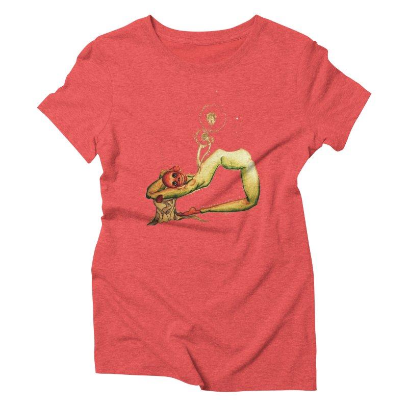 Garden Life Women's Triblend T-Shirt by peacewild's Artist Shop