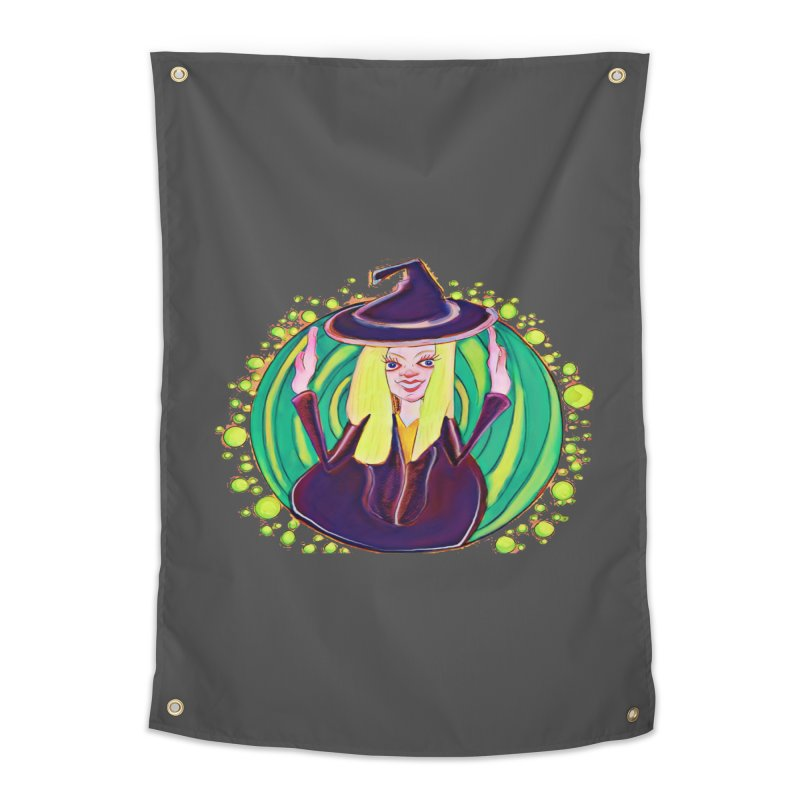 First Witch Home Tapestry by peacewild's Artist Shop