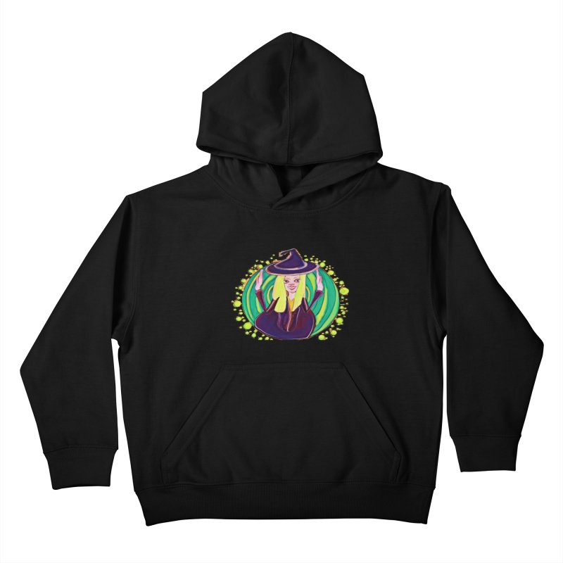 First Witch Kids Pullover Hoody by peacewild's Artist Shop