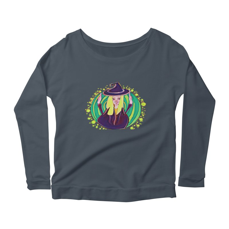 First Witch Women's Scoop Neck Longsleeve T-Shirt by peacewild's Artist Shop