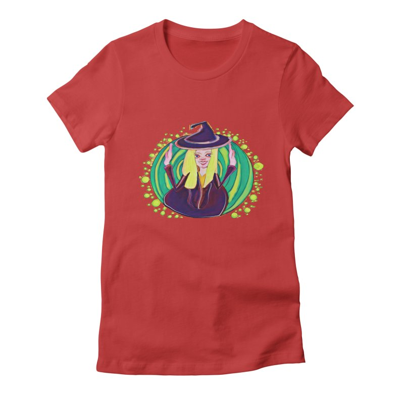 First Witch Women's Fitted T-Shirt by peacewild's Artist Shop