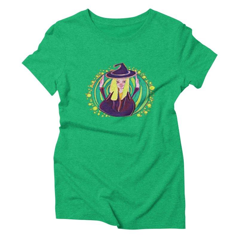 First Witch Women's Triblend T-Shirt by peacewild's Artist Shop