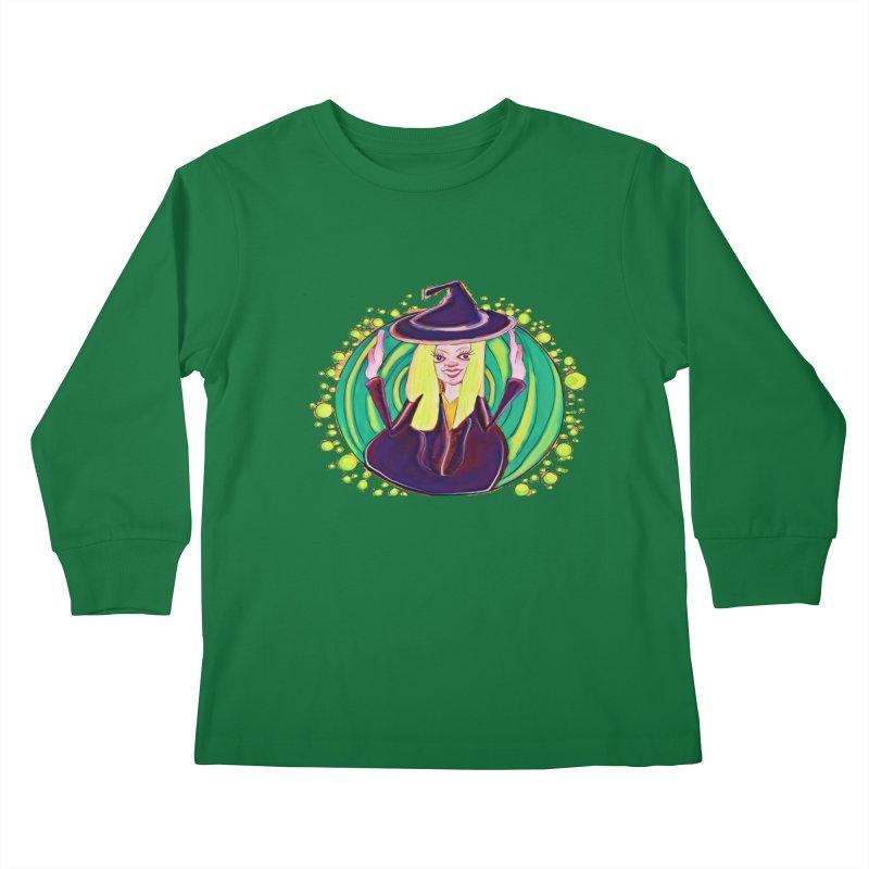 First Witch Kids Longsleeve T-Shirt by peacewild's Artist Shop