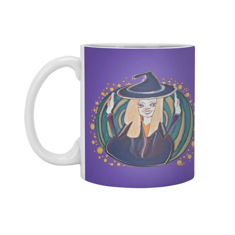 Witchy Magic Accessories Mug by peacewild's Artist Shop
