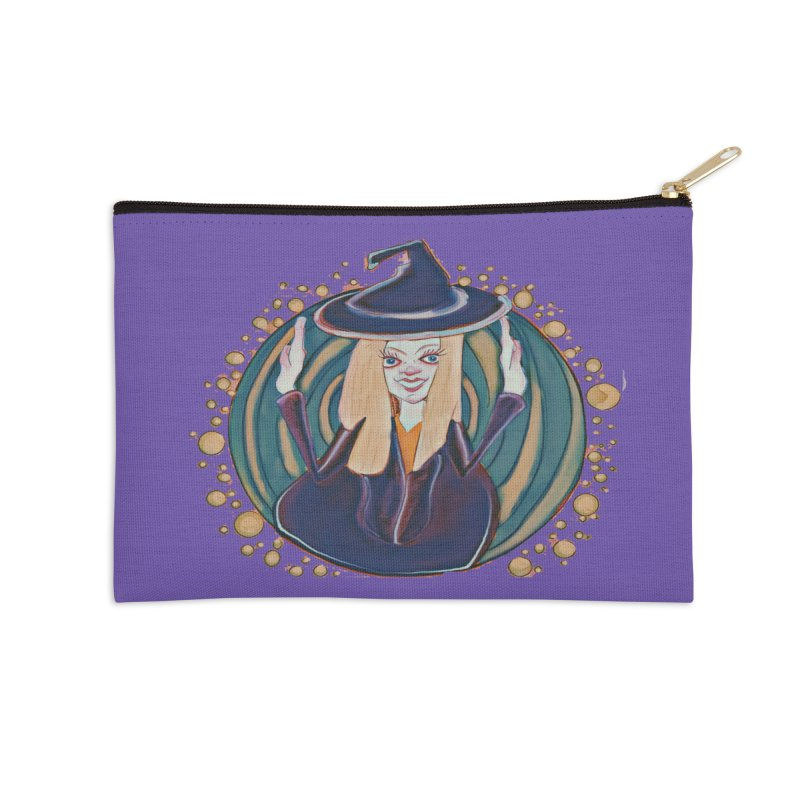 Witchy Magic Accessories Zip Pouch by peacewild's Artist Shop
