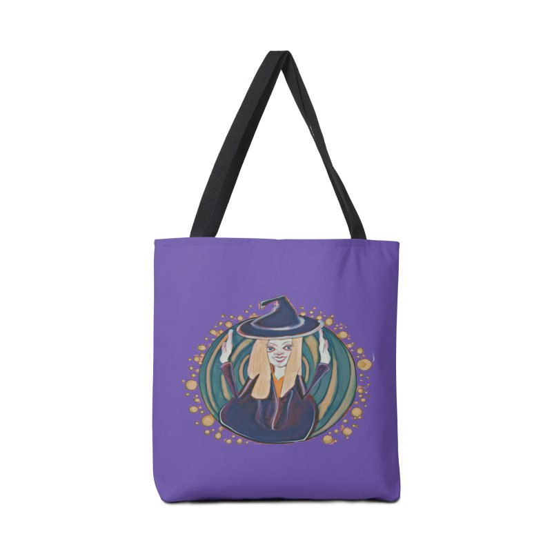 Witchy Magic Accessories Bag by peacewild's Artist Shop