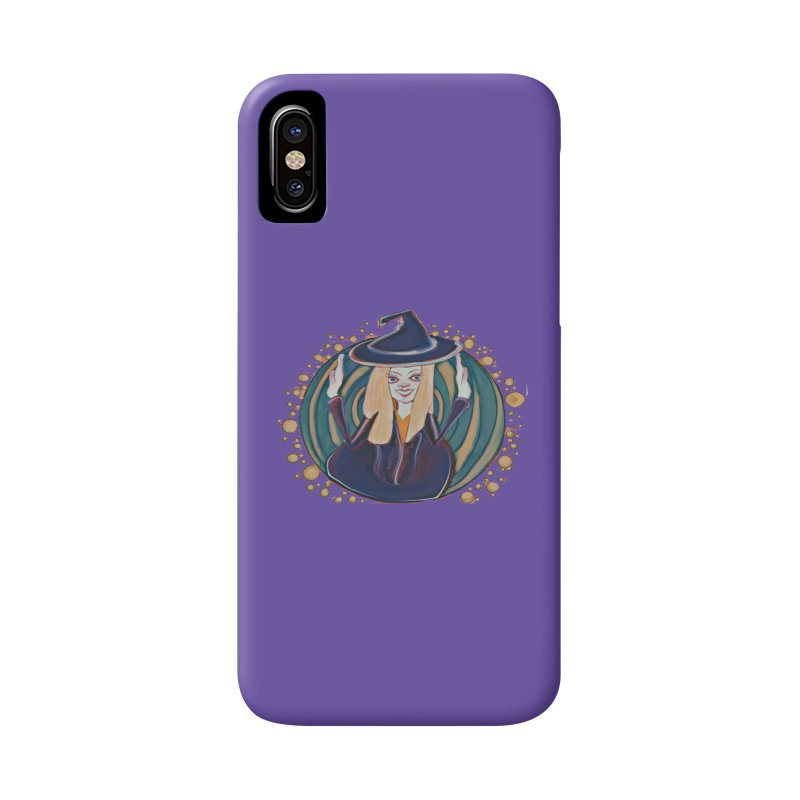 Witchy Magic Accessories Phone Case by peacewild's Artist Shop