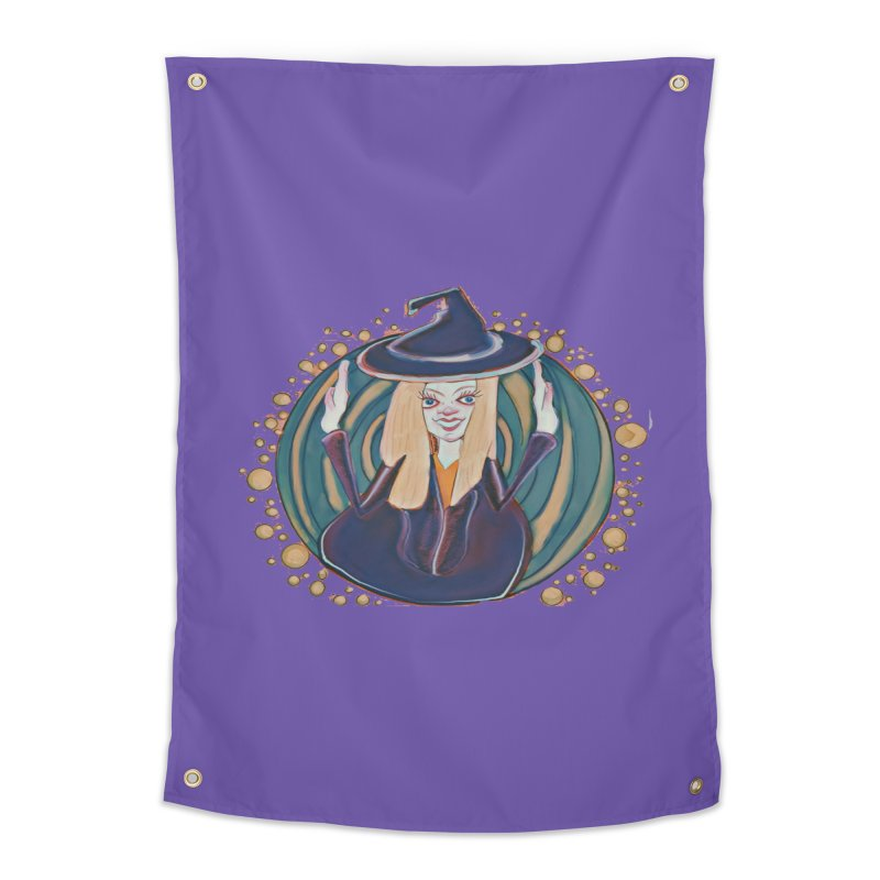 Witchy Magic Home Tapestry by peacewild's Artist Shop