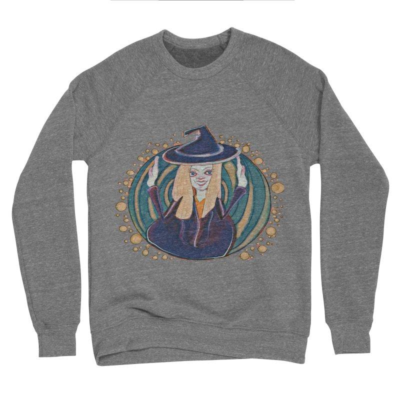 Witchy Magic Women's Sponge Fleece Sweatshirt by peacewild's Artist Shop